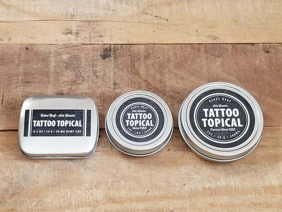 Tattoo Topical Collection - Up your freshly inked aftercare regimen with a powerful topical.