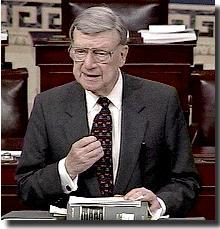 Senator William Roth, Jr. (R-Del.)*