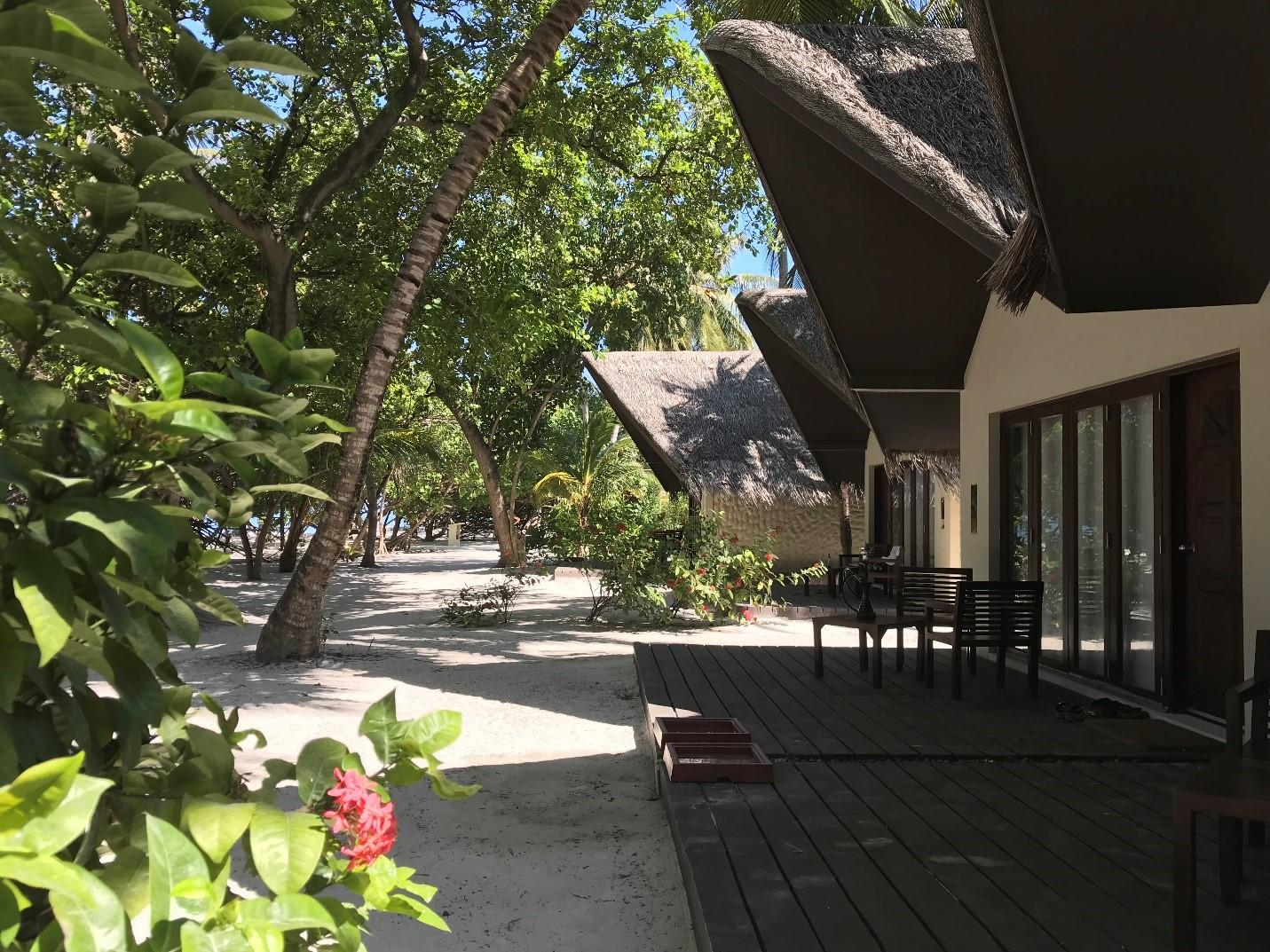 Adaaran's beachfront villas