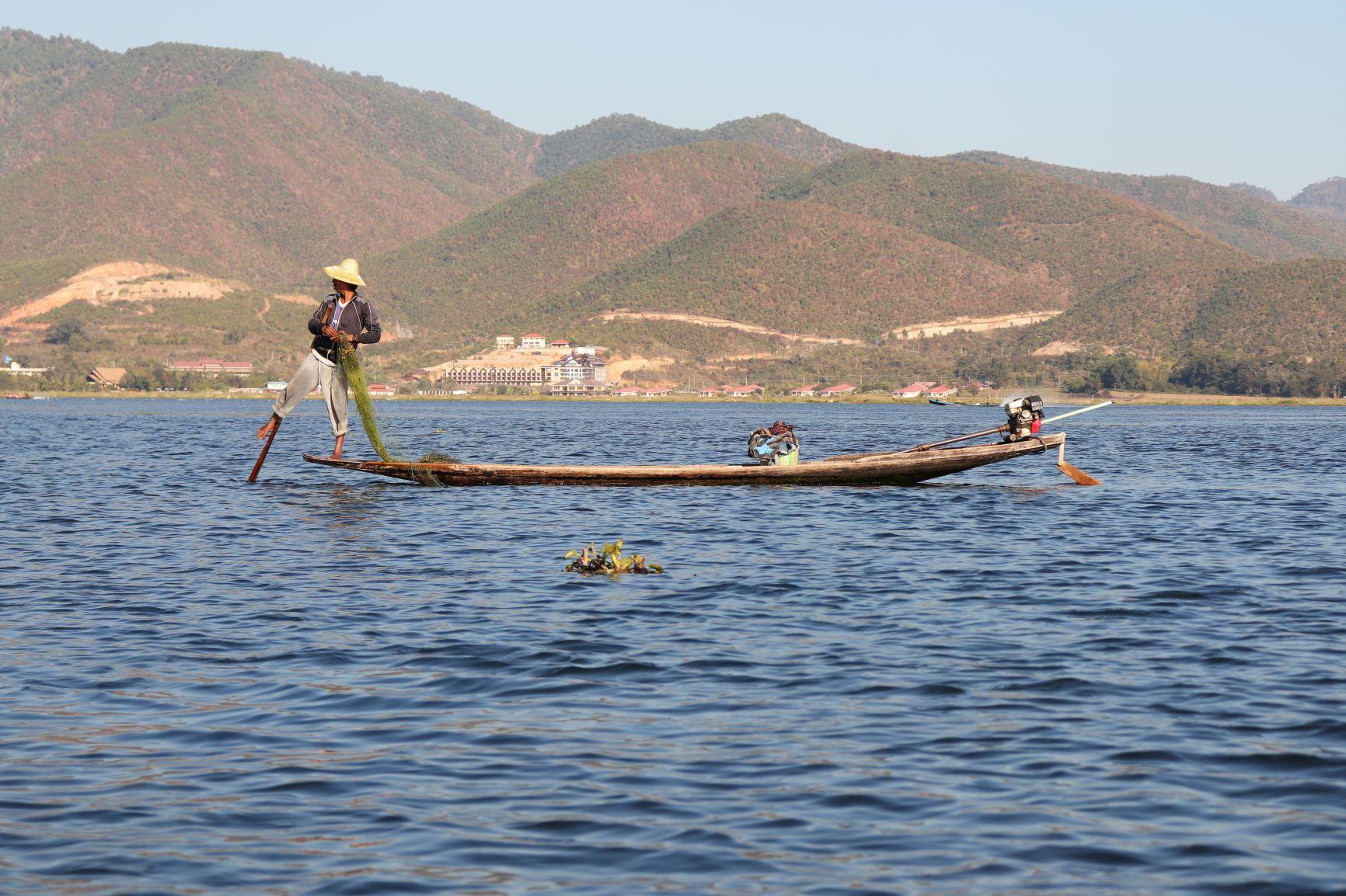Inthar fisherman