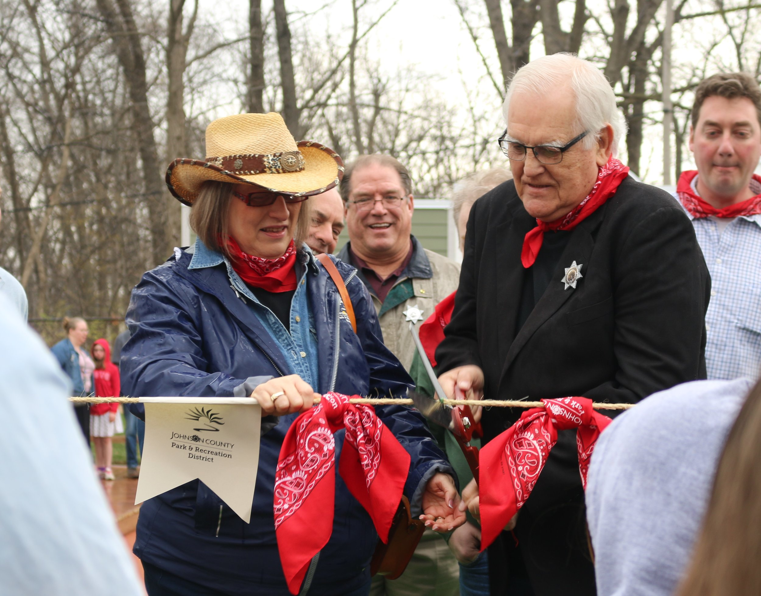 Nancy Wallerstein at Ribbon Cutting