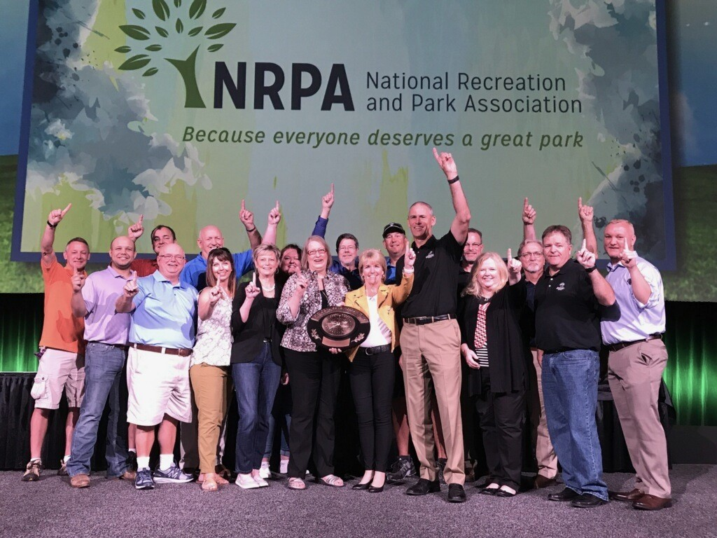Nancy at NRPA