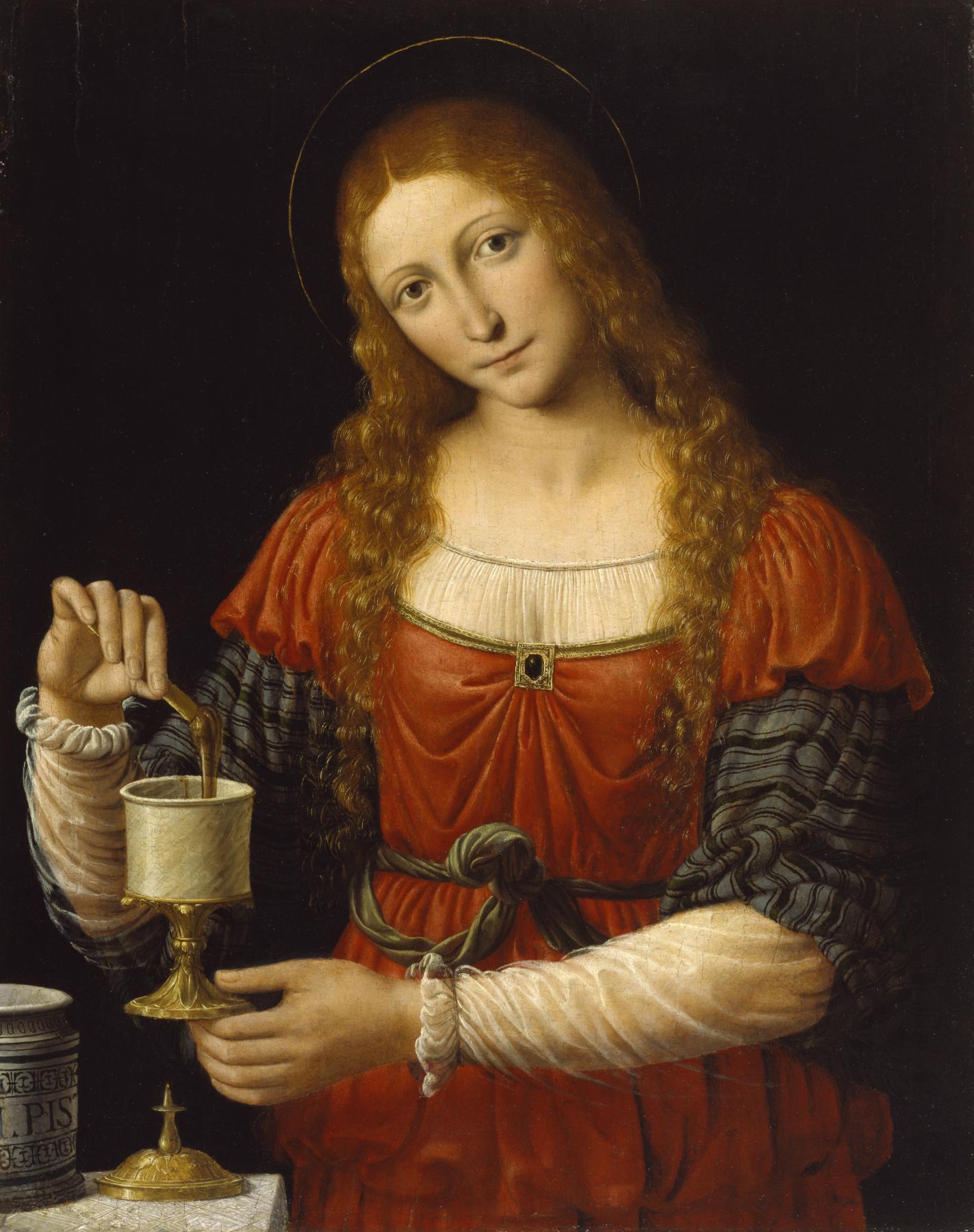 Mary Magdalene,  Andrea Solario