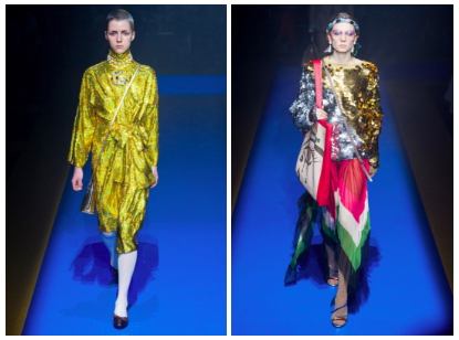 Gucci Spring 2018 at New York Fashion Week
