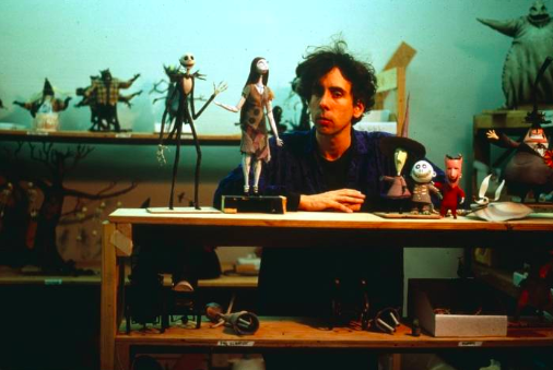 Tim Burton creating  The Nightmare Before Christmas , 1993