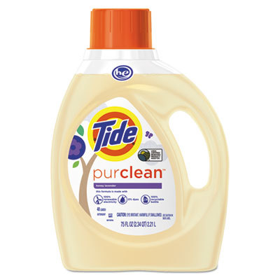 Tide - Tide's purclean® detergent line was bound to find its way onto the most prestigious greenwashing list of the Woodward Post. The urine-hued liquid encased in yet another animated allusion to nature, this time taking form of a tree with a purple leaf-flower (a feat of biology!) lands a stunning 7.6/10 on the CGS.