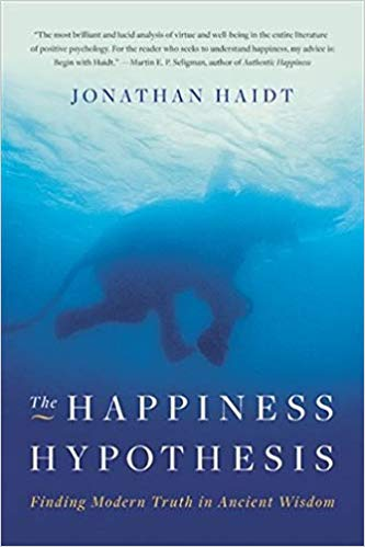 THE HAPPINESS HYPOTHESIS BY JONATHAN HAIDT - Length: 297 (including notes, acknowledgements, etc)Rating : 9/10Written by Jonathan Haidt, a long-time professor at the University of Virginia, The Happiness Hypothesis is a broad, scientifically backed examination of many core ideas of morality, success, what it means to be truly happy. He draws on theories of significant philosophers in the past– Plato, Freud, and the like– and adds modern, navigable insight. Haidt provides a contemporary understanding of the human condition that should not be overlooked. Personally, I really enjoyed this book because it gave me a deeper understanding of positive psychology while also letting me see happiness from a different perspective.