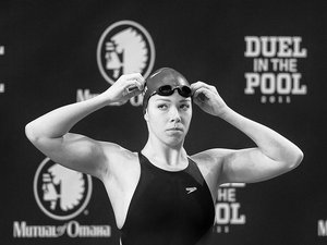 """Champion swimmer Kate Ziegler, who's spent over half her life """"pushing water aside,"""" exemplifies the entrepreneurial spirit to compete, and win."""