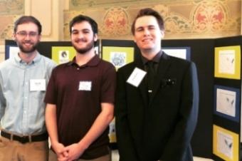 Jacob Wert, Zachary DeLozier and Zachary Pecson