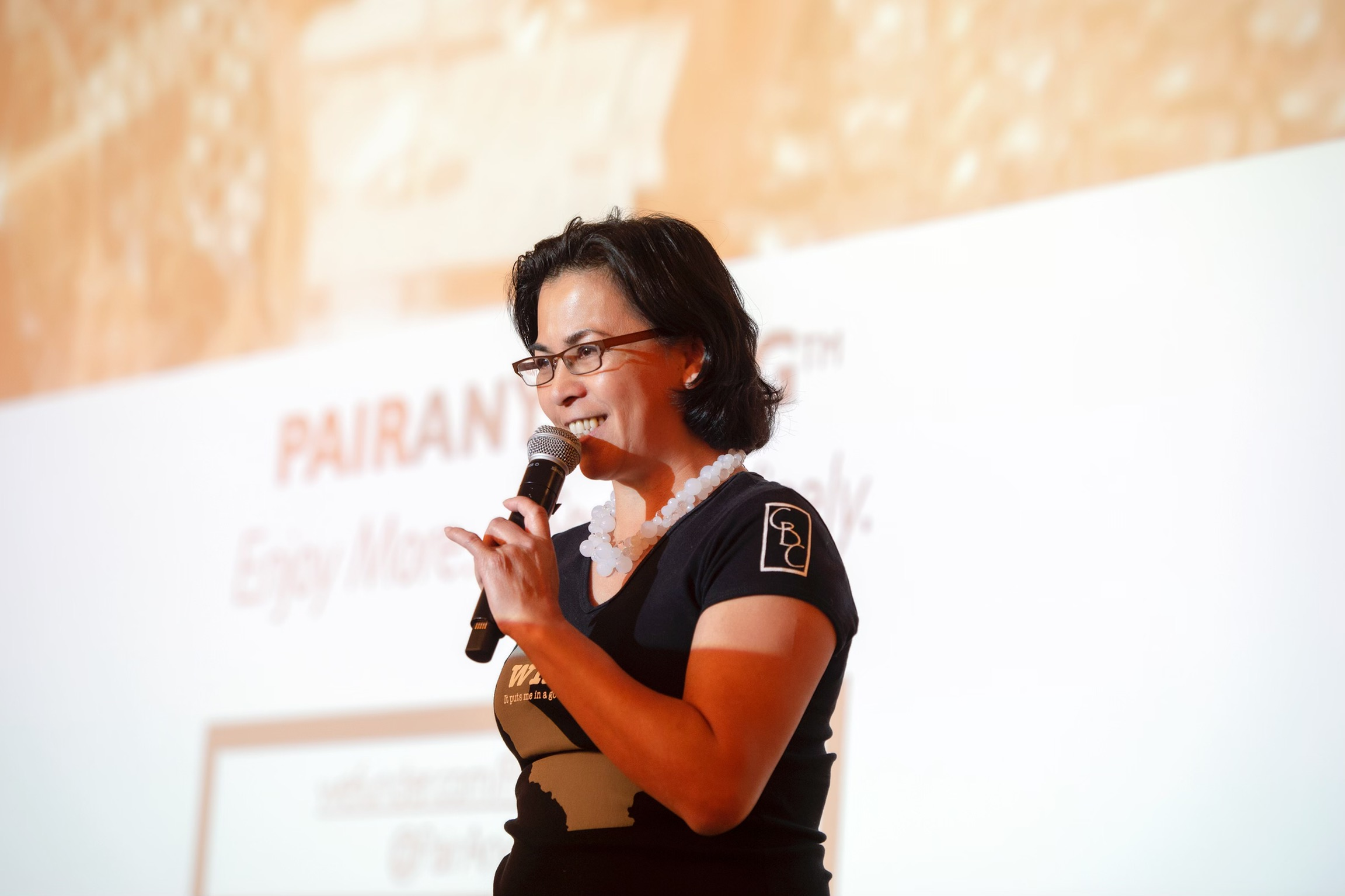 Christy Serrato  pitches  PairAnything  - personalizing wine experiences outside the tasting room