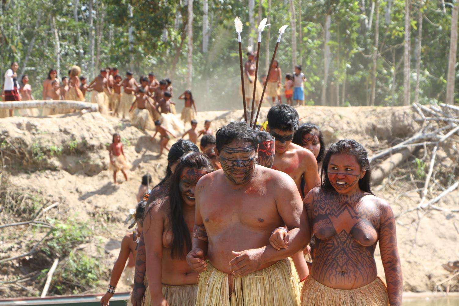 Yawanawa painted bodies ritual.jpg