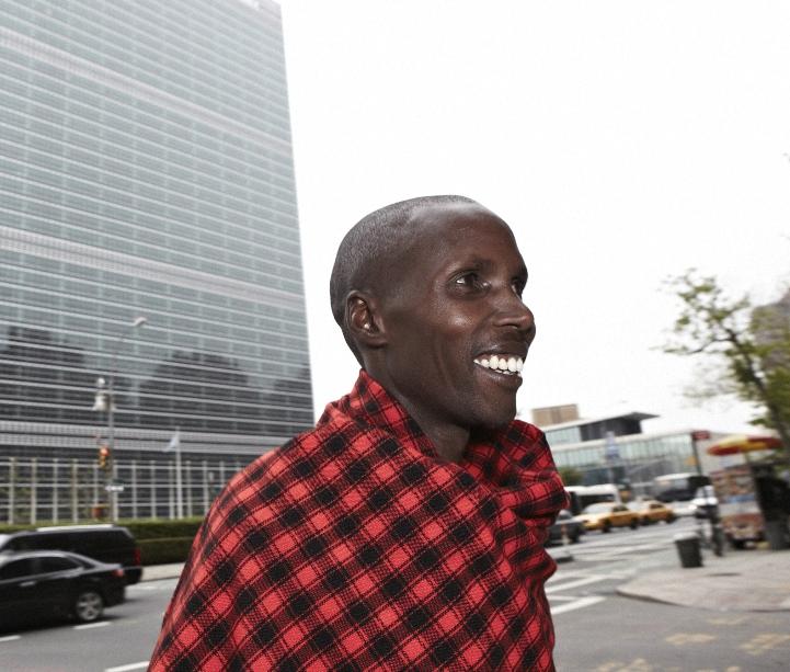 Samwel Naikada, photo by Marc Lecureuil