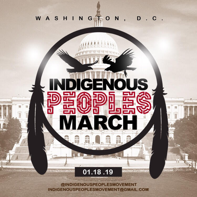 Read more about Indigenous Peoples March and RSVP at:    https://indigenouspeoplesmovement.com/   Nathalie Farfan |  Nathalie@labrujasclub.com  Kelly Holmes |  nativemax@gmail.com