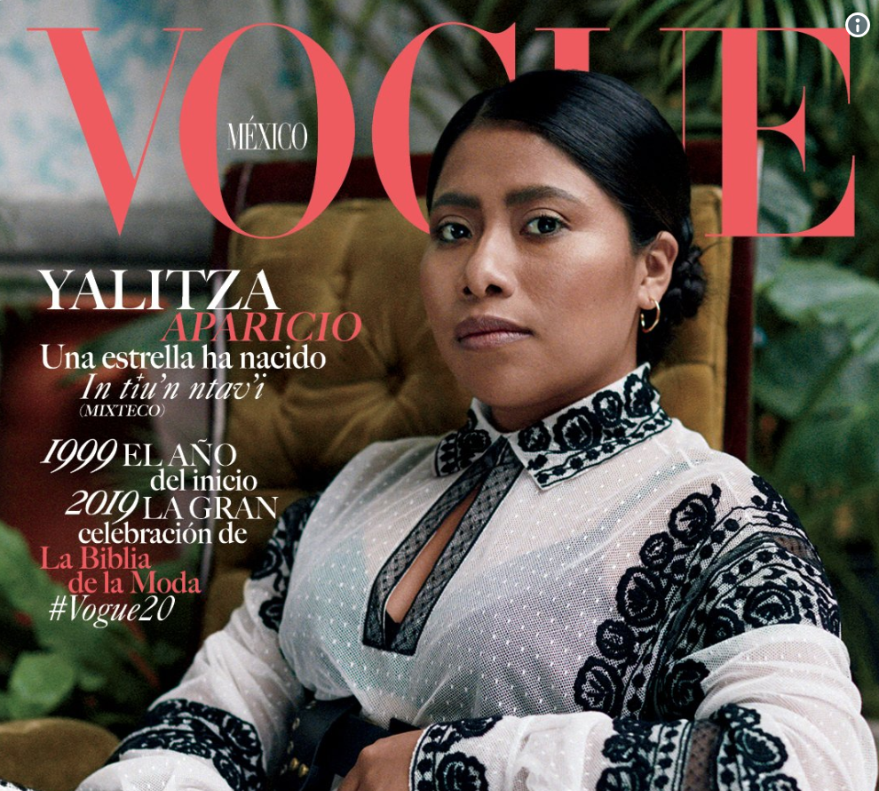 Roma actor's Vogue Mexico cover is first for country where light-skinned people dominate media landscape