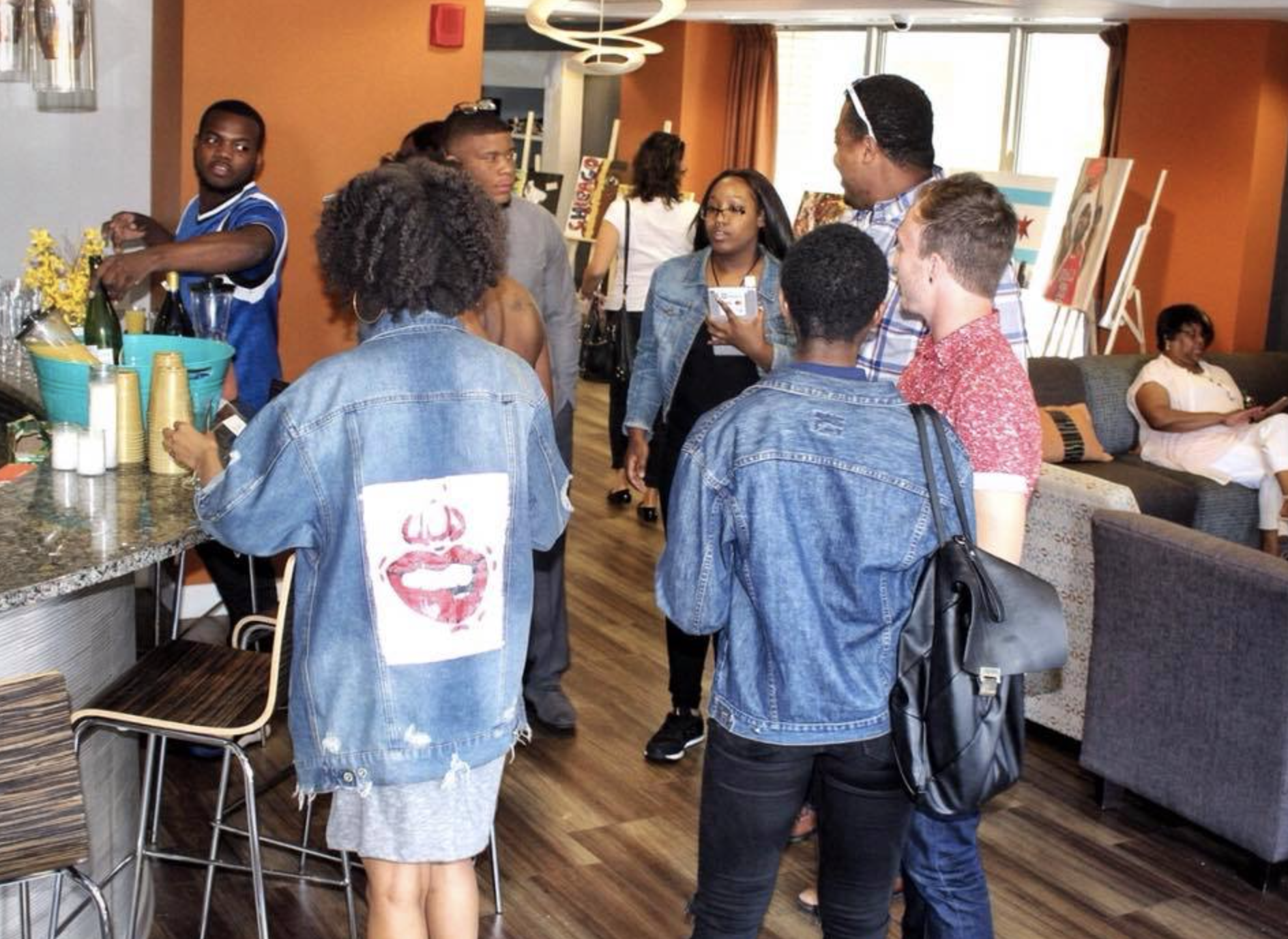 Brunch & Art With Us - June 2018, Chicago, Co-Producer/Featured Artist