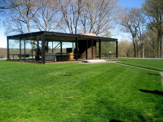 Glass House by Philip Johnson.