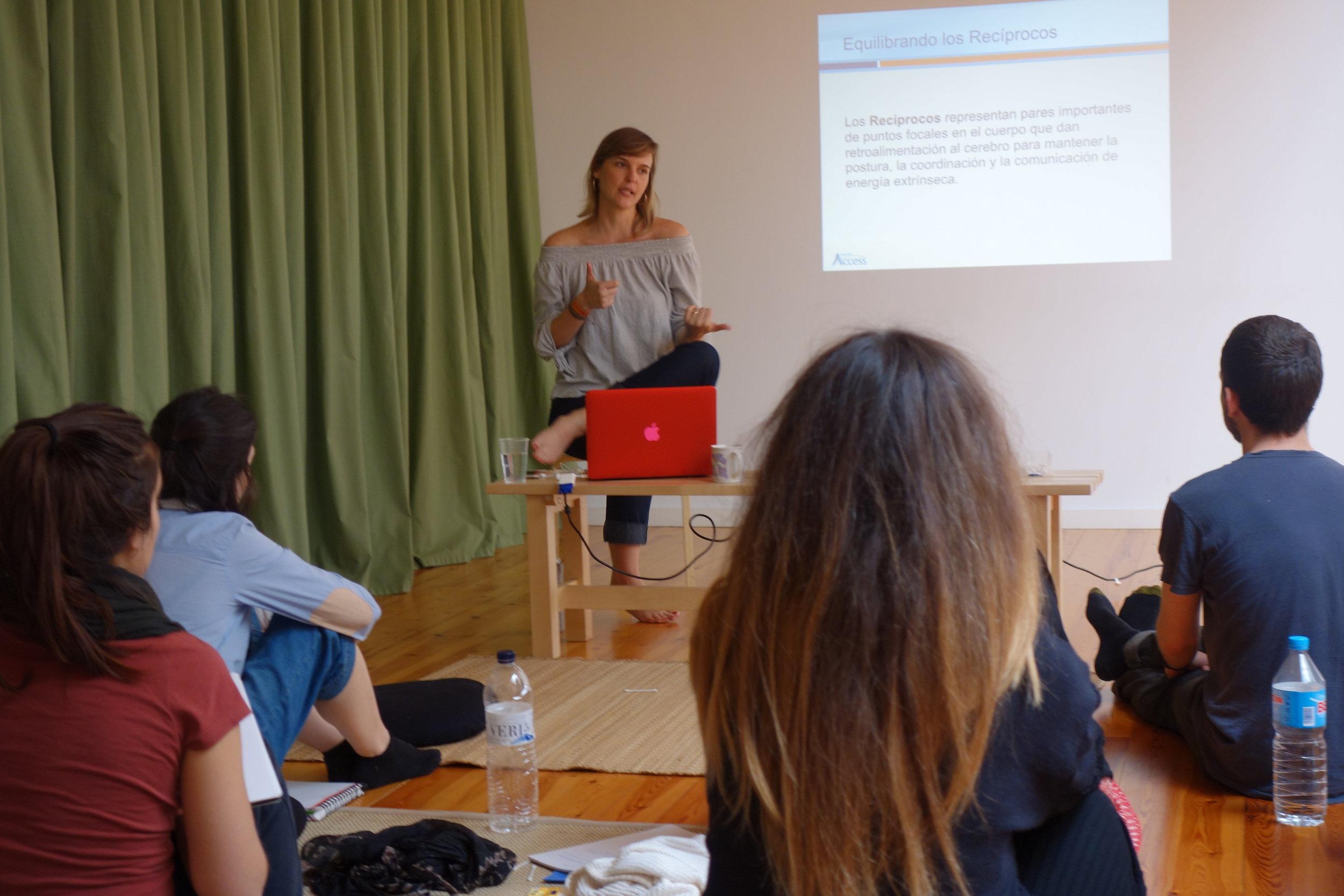 Curso de Acesso em Barcelona. Foto: Mariana Kirschner