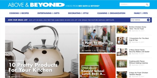 Establish a Blog - Retail Industry