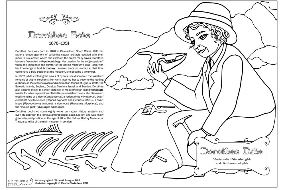The Historical Heroines Coloring Book