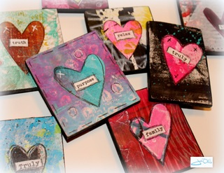 SWEET HEART MINI ART - Hosted at ARTWorks Vass on February 1, 2019 in Vass, North CarolinaEnjoy an afternoon of creating Sweet HeART mini masterpieces with author and instructor, Jodi Ohl.For more Information and to register, click HERE.