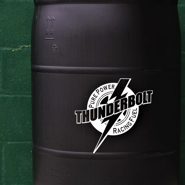 Thunderbolt Racing Fuel is getting a new look! #thunderboltfuel #gogreen #backinblack