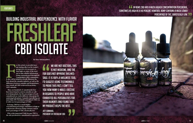 Freshleaf CBD Isolate -