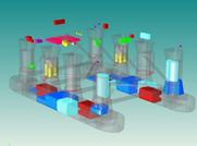 Semisub Model Leveraging New Offshore Tools