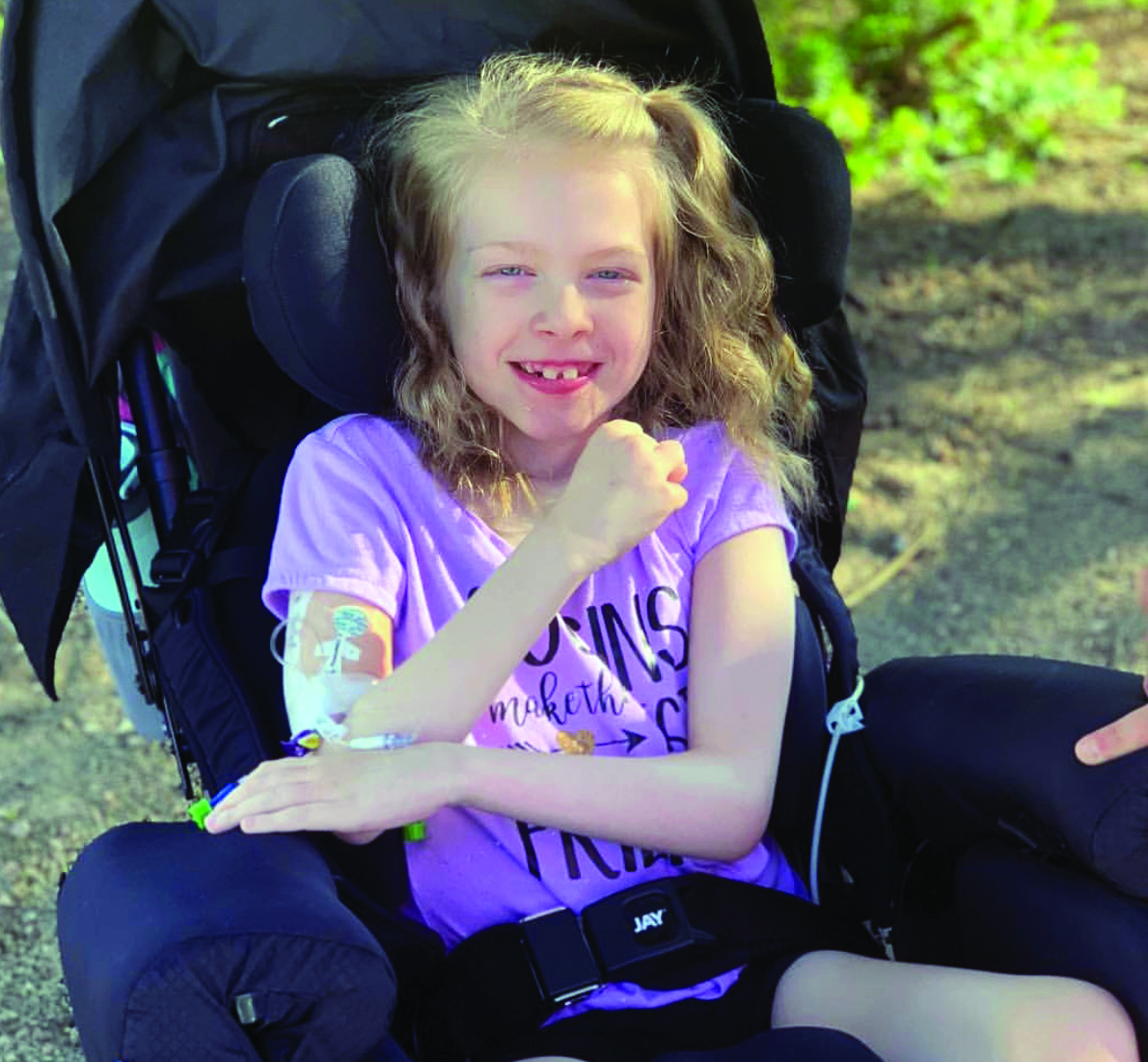 BE PART OF THE HOPE & HELP US ENRICH LIVES - Suzy Foundation is dedicated to individuals with special needs by helping with the cost of assistive equipment not covered by insurance.