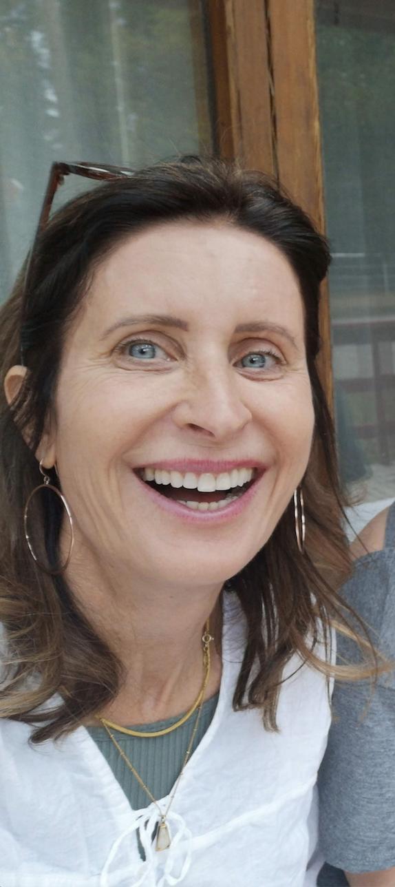 Francesca's big smile