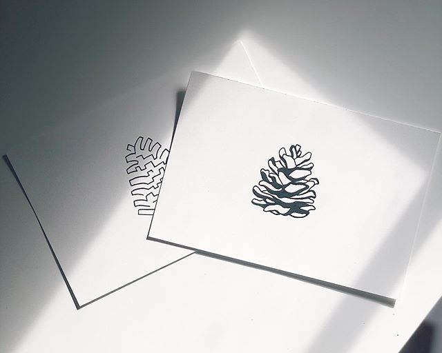 I'm loving the tattoo requests! A couple pinecone designs for a friend. 🌲 . . . . #localart #shoplocal #minneapolis #stpaul #minnesota #linedrawing #draw #drawing #line #blackandwhite #artist #sketch #penandink #minimalist #art #figure #tattoo #fineart #contour #abstractart