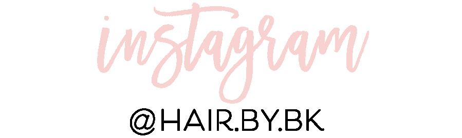 Instagram - @hair.by.bk