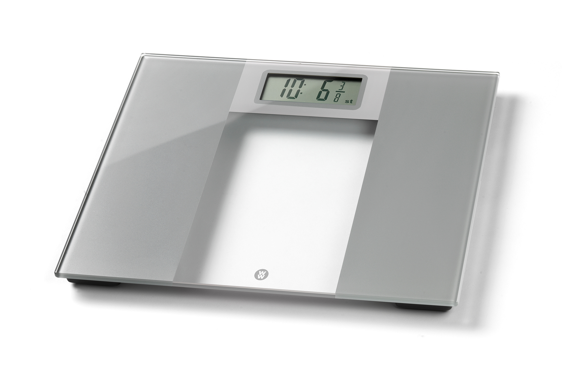 Extra Wide Glass Slim Scale