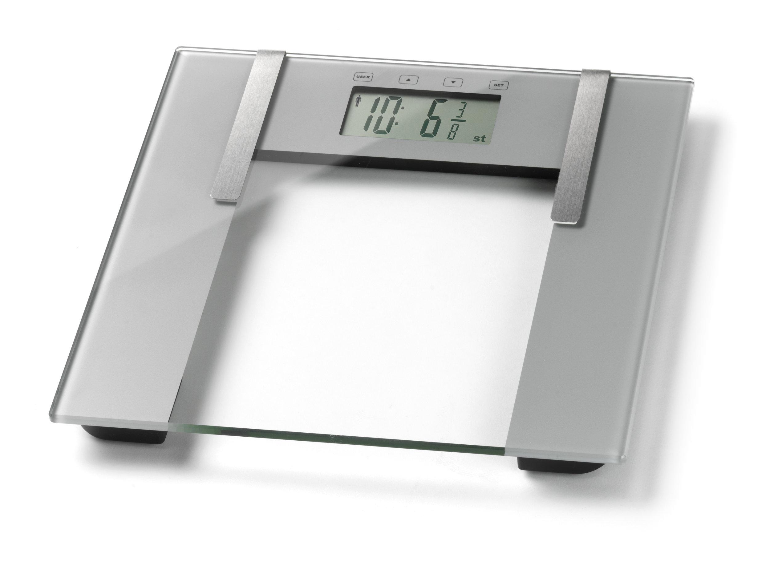 Precision Glass Slim Analyser Scale