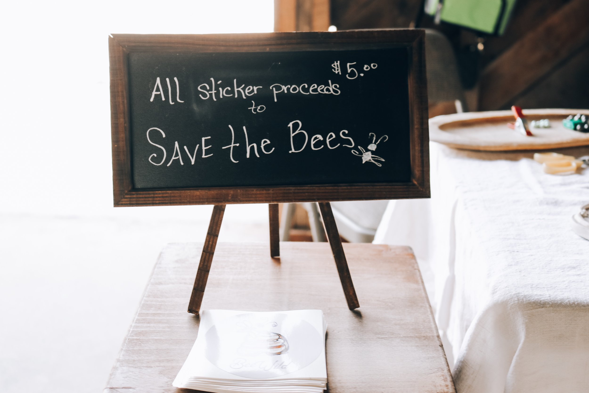 Save the Bees Sign.JPG