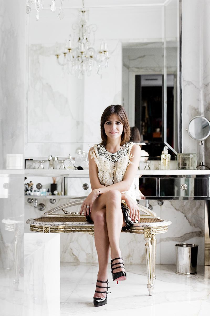 Sandra Hillar para Harper's Bazaar Argentina