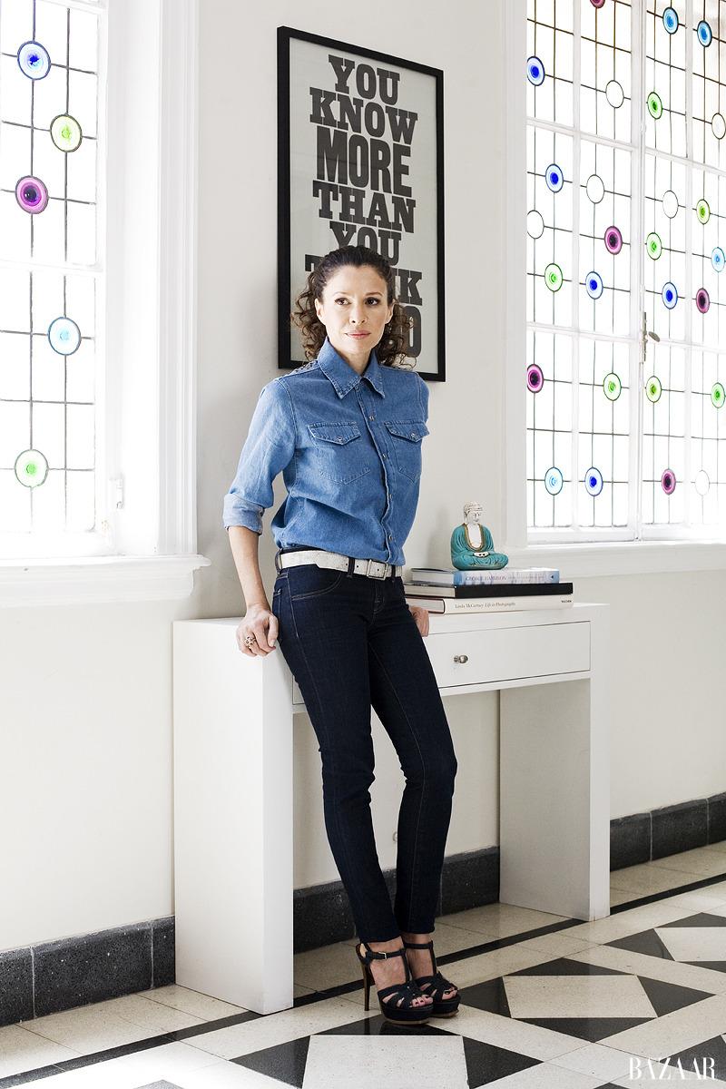Julieta Ortega para Harper's Bazaar Argentina