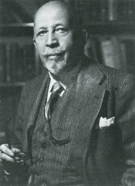 W. E. B. Du Bois, born in Great Barrington on February 23, 1868, educated at Harvard University, civil rights leader and co-founder of the N.A.A.C.P.