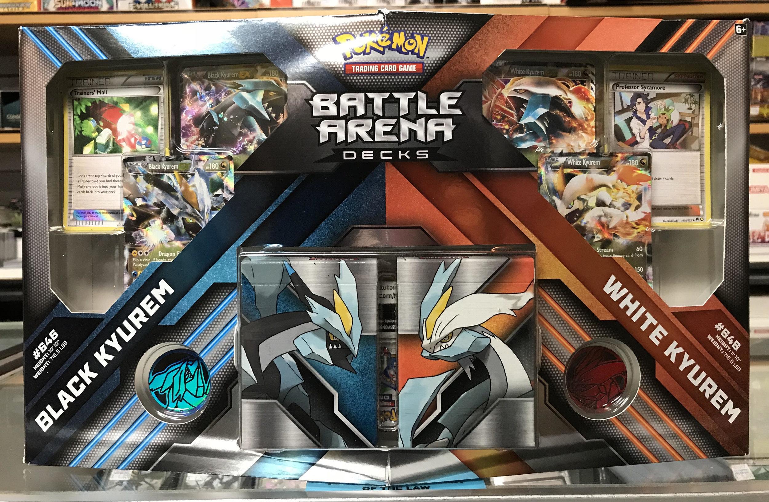 Pokemon Battle Arena Decks. White Kyurem and Black Kyurem