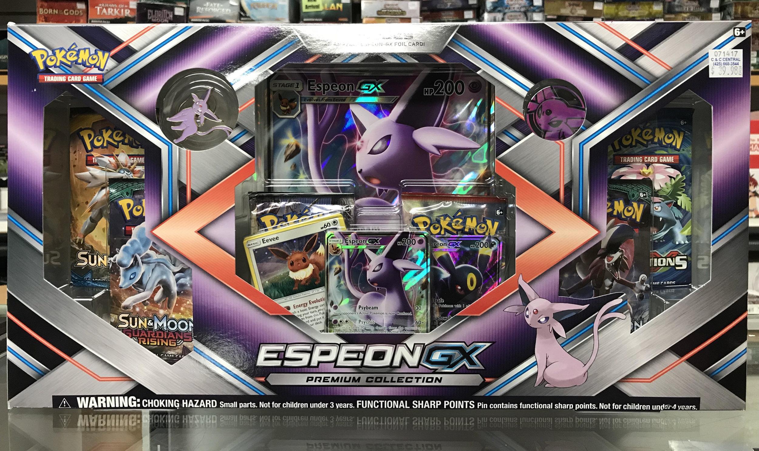 Pokemon Espeon GX gift box.