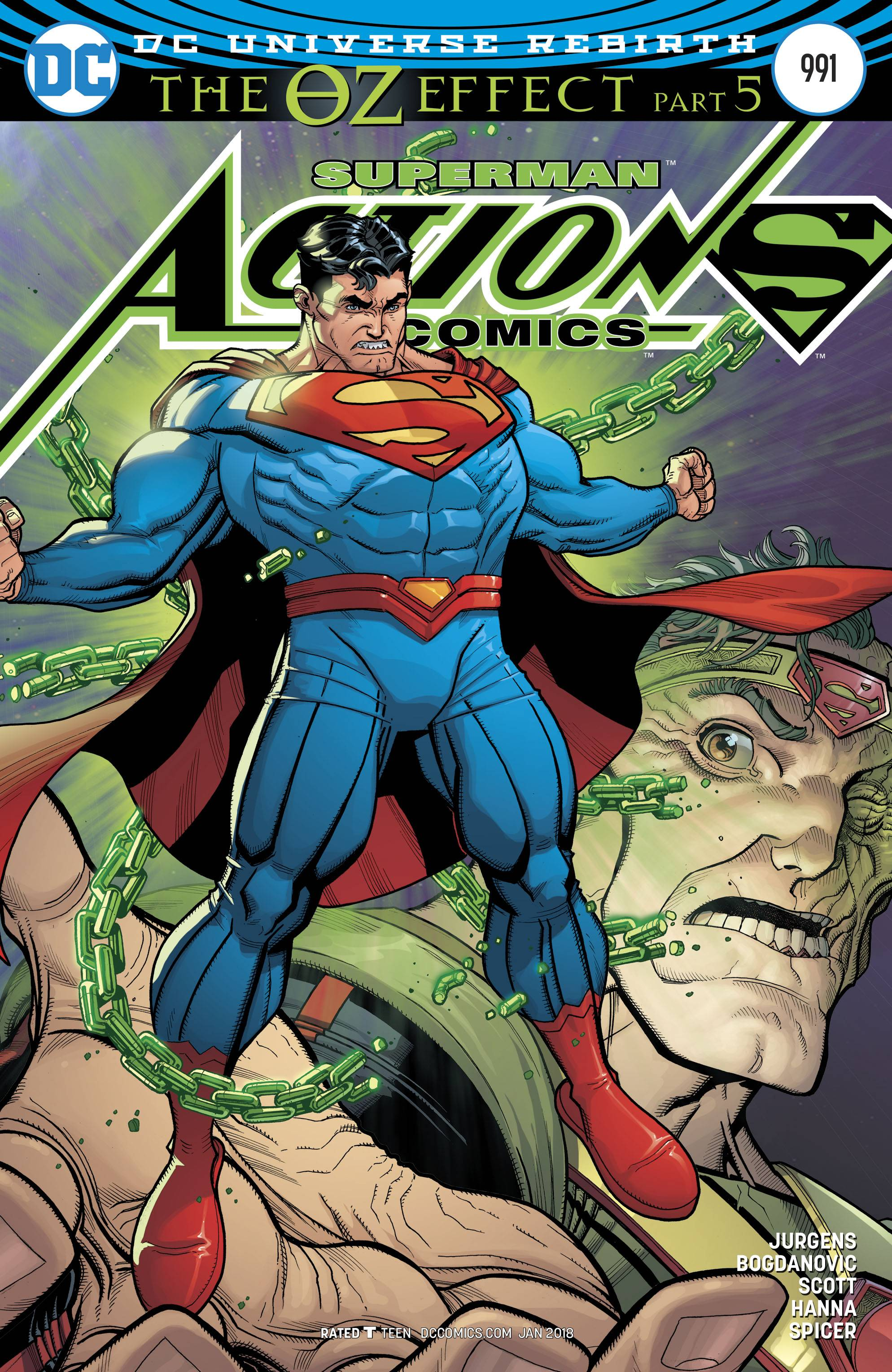 Action Comics #991 Lenticular Cover