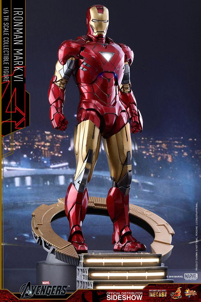 Hot Toys. MMS378-D17. Iron Man Mark VI (6)