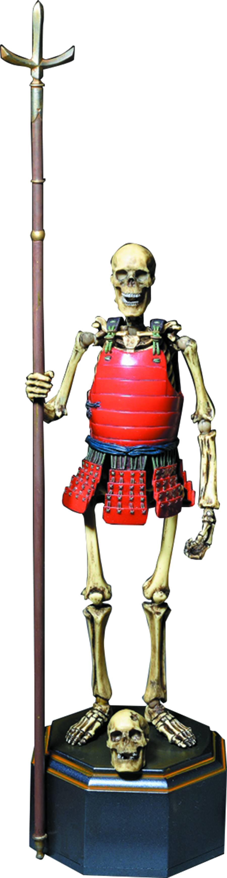 Kaiyodo. Skeleton Samurai