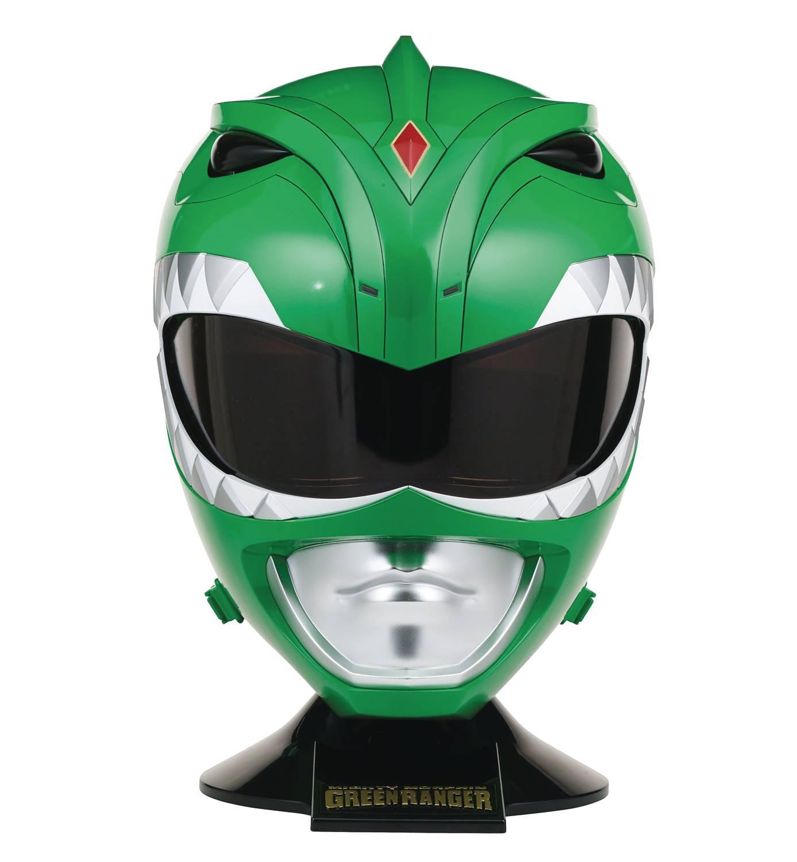 Bandai MMPR Green Ranger helmet