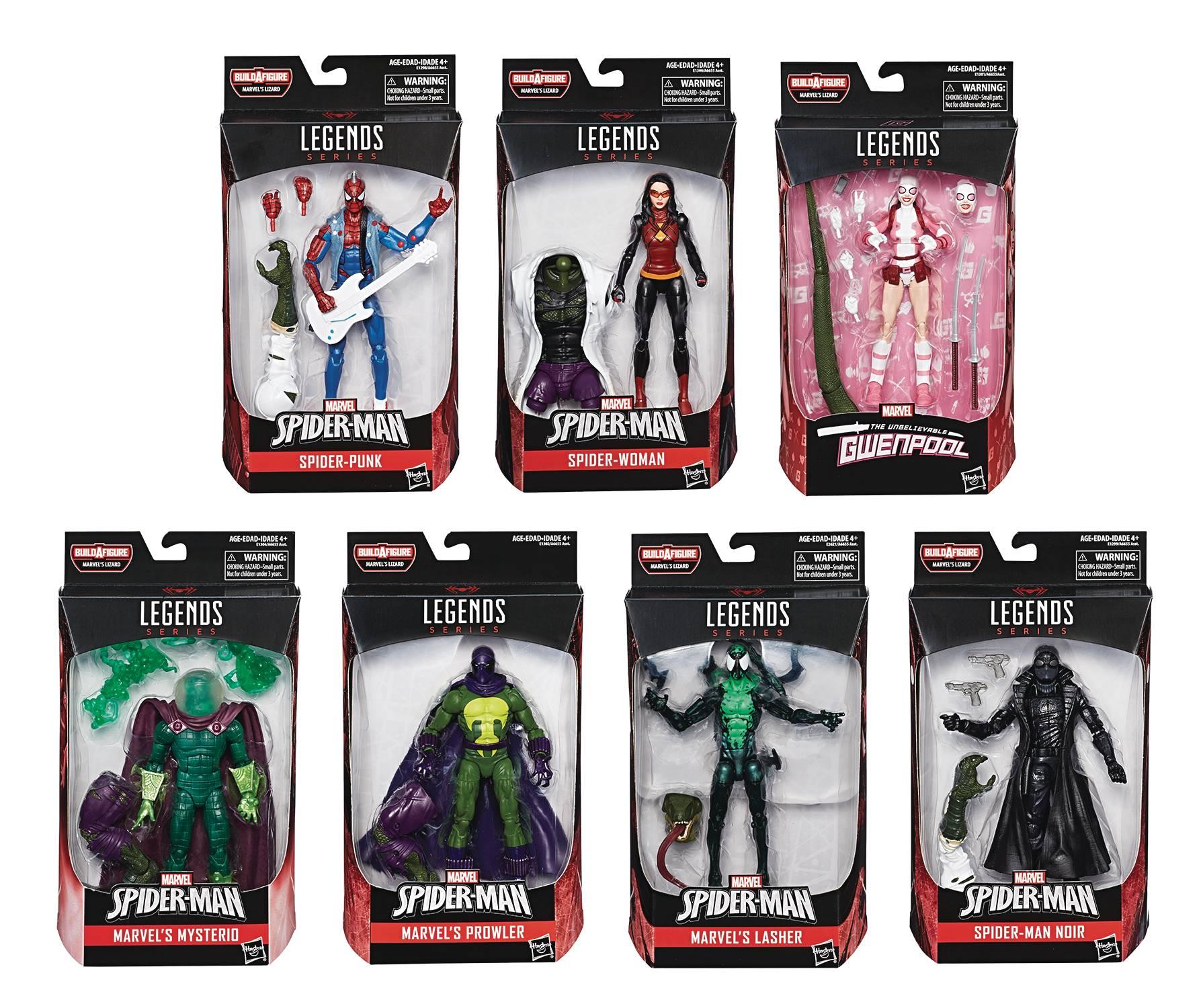 Spider-Man Legends Assortment