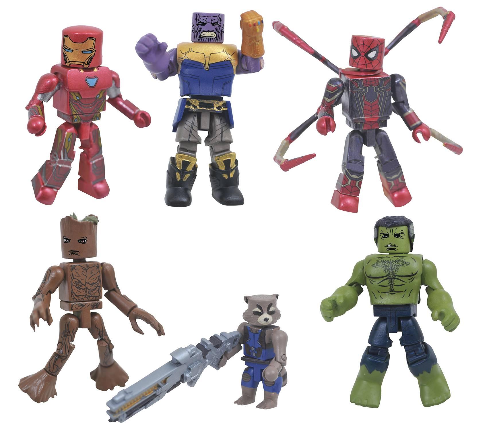 Minimates Avengers 3 series. 1