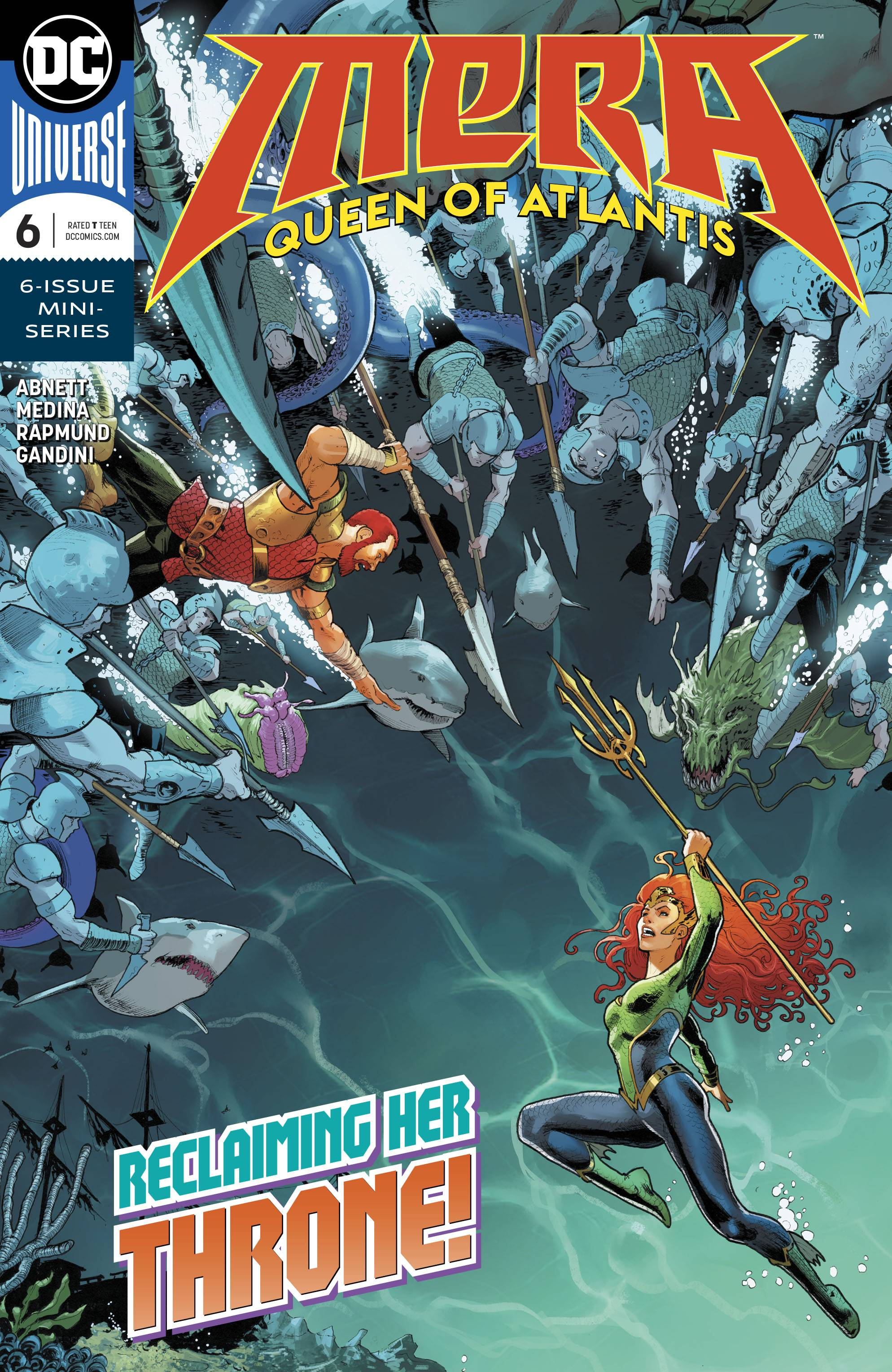 Mera Queen of Atlantis #6