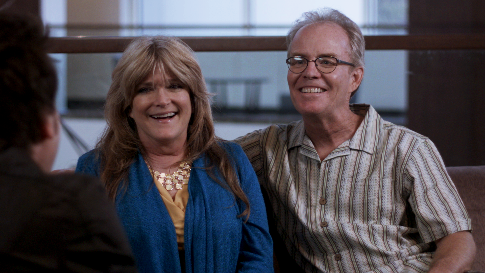 SUSAN OLSEN AND MIKE LOOKINLAND,  ACTORS,THE BRADY BUNCH
