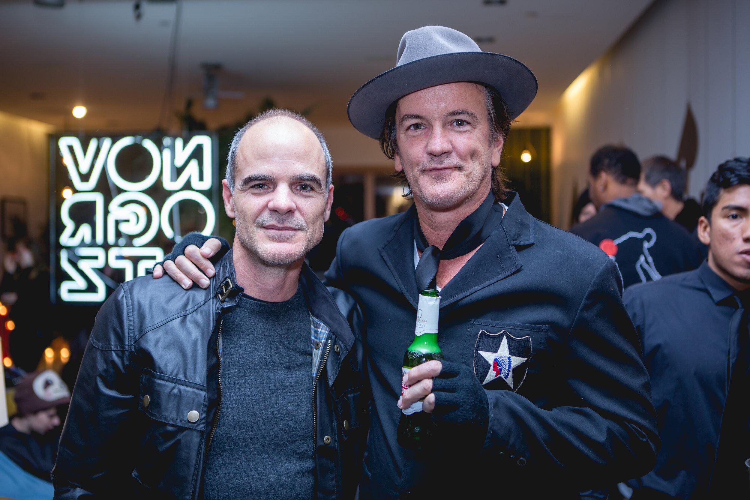 Michael Kelly and Bob Novogratz