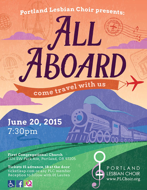 ALL ABOARD - JUNE 2015