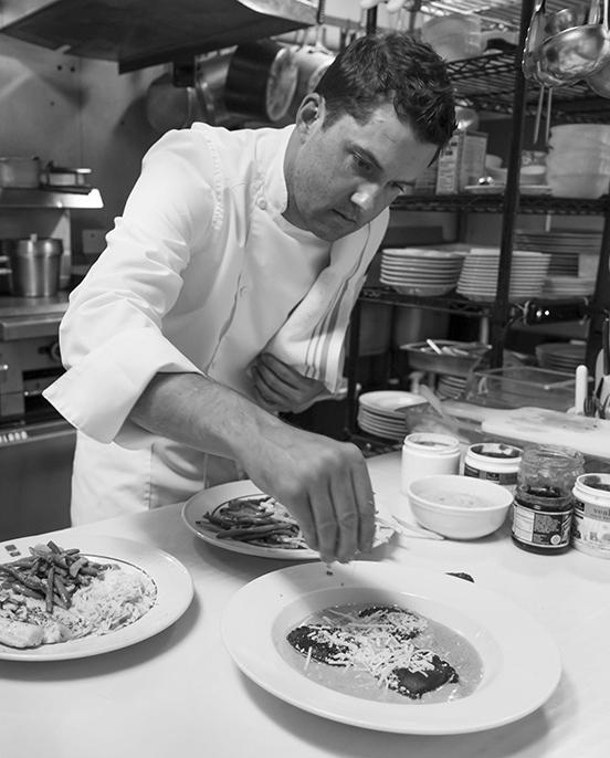 Chef Christophe Moffroid